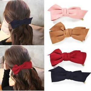 Lovely-Women-Girls-Bow-Big-Bowknot-Hair-Clip-Headwear-Barrette-Hair-Accessories