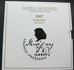 SLOVENIA 2007 COMPLETE EUROSET IN BOX UNC