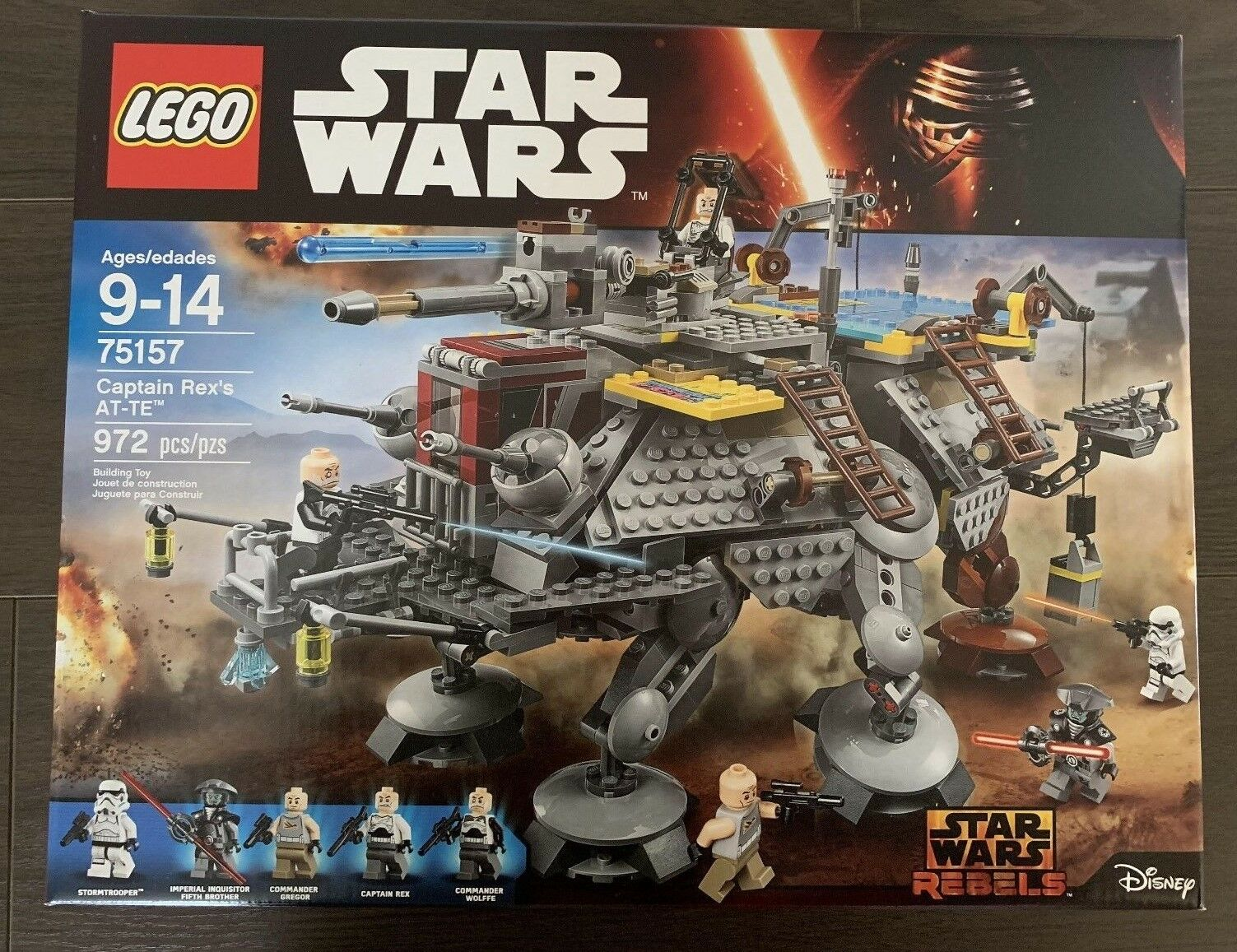 LEGO Star Wars Captain Rex's AT-TE (75157) New Factory Sealed