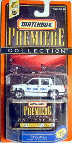 Matchbox  Premiere   SERIES CHEVY  Salt Lake City Police  RARE EDITION  plus abordable