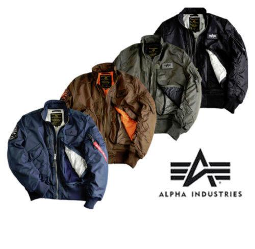 Alpha Industries Engine 103101 S-3XL Jacket Flight Bomber Jacket Blouson New