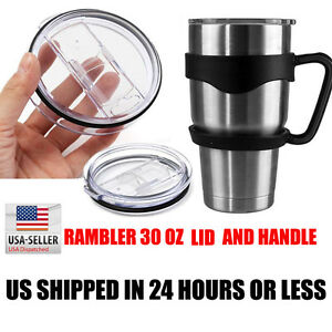 YETI-RAMBLER-30oz-Slide-Top-Lid-HANDLE-For-RTIC-YETI-OZARK-Rambler-30-Oz