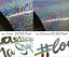 Pulsschlag A-U-D-I Aufkleber GLITZER oilslick HOLOGRAMM VAG Auto-Sticker