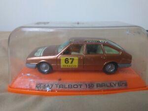 Antigua Miniatura 1:43 Pilen M-547 Talbot 150 Rally. Fabriqué en Espagne.