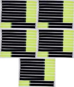 40 x Kabelklettband FK 30 cm x 20 mm neon grün Klettband Klett Kabel Binder Band