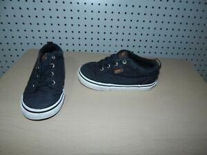 Boys Toddler VANS shoes - black - size