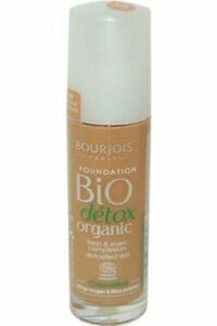 Bio-Detox-Biologico-Da-Bourjois-Foundation-30ml-Bronzo-Scuro