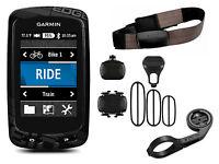 Garmin Edge 810 Performance Bundle Cycle GPS SATNAV Heart Rate HRM + Cadence