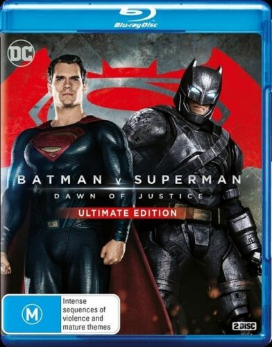 1 of 1 - Batman V Superman - Dawn Of Justice (Ultimate Edition) : NEW Blu-Ray