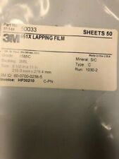 3m 461x Lapping Film Sheet 8 12 X 11 15 Mic 50 Sheets 50033