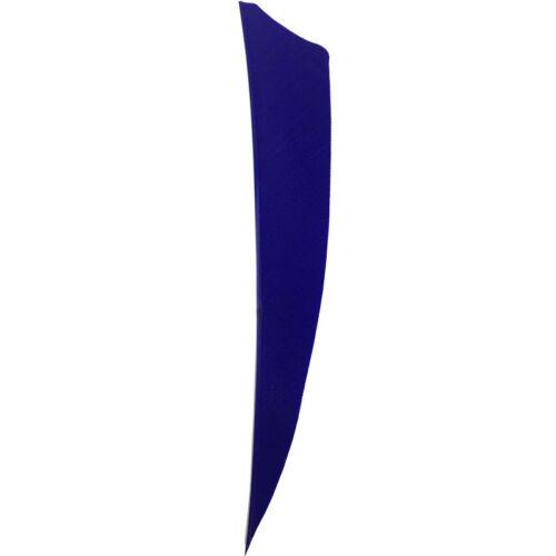 """100pcs 4/"""" Shield Cut RW Archery Fletches Fletching Feather"""