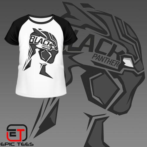 Marvel Avengers Black Panther T-Shirt Kids Comic Book Mens Women/'s