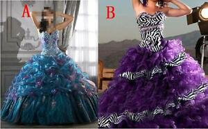 Zebra-Quinceanera-Dress-Wedding-Dresses-Ball-Gown-Prom-Party-Gowns-Us-Size-4-16