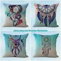 Us Seller- 4pcs Cushion Covers American Indian Dream Catcher Interior Decoration