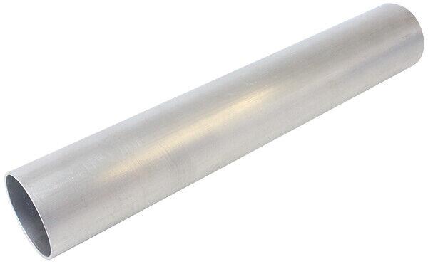 "Aeroflow Aluminium Tube Str 1.25"" O.D 52mm Wall 1.63mm 300mm Long AF8601-125"