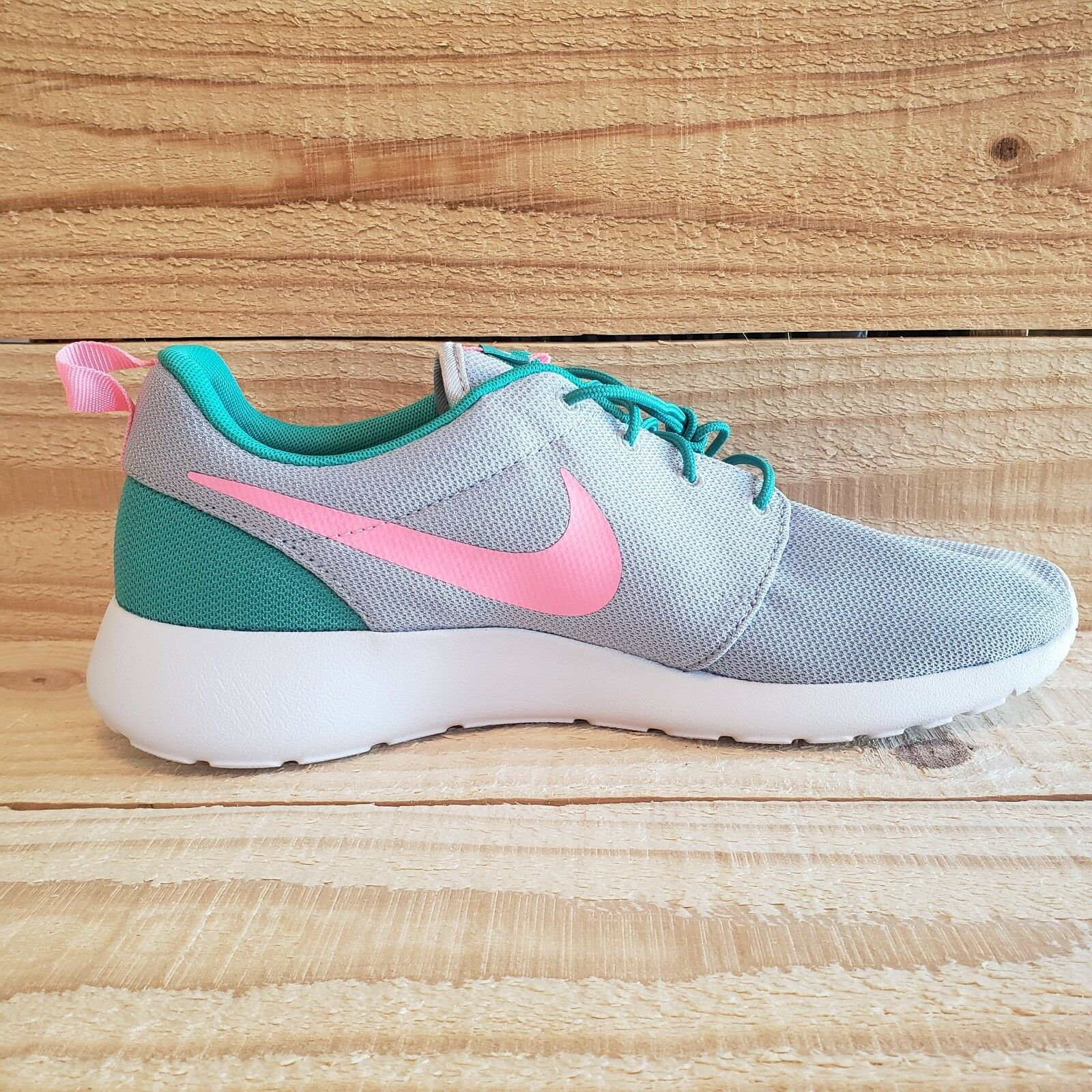 Nike Roshe One Run South Beach Green Pink Pink Pink 511881-036 Size 10.5 Sport Train Grey 1fc59e