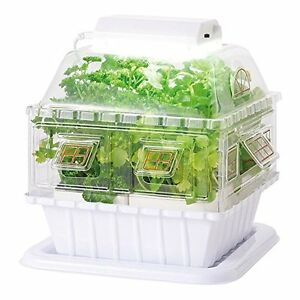 Led-Garden-Hydroponic-Grow-Box-Vegetable-Cultivating-Unit-Gakken-Japan-New