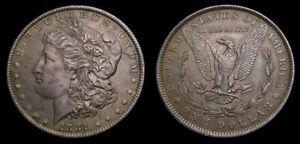 USA-1881-Morgan-Silver-Dollar-Toned-EF