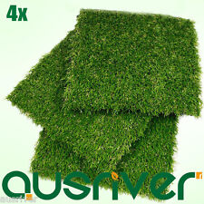 Premium 4X Outdoor Artificial Natural Look Grass Synthetic Turf Fake Lawn Garden