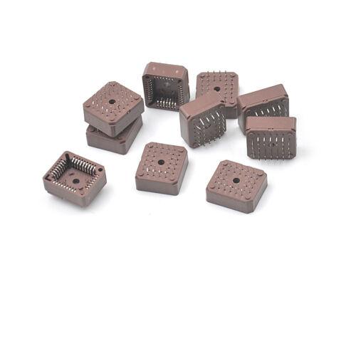 10pcs PLCC32 32 Pin 32Pin DIP IC Socket Adapter PLCC Converter TS