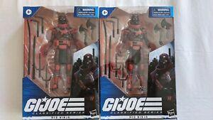 Hasbro G.I. Joe Classified Series Red Ninja x2 Action Figure Collectible