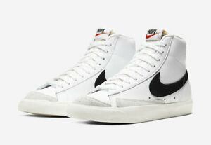 Nike-Wmns-Blazer-Mid-77-Vintage-White-Black-Women-Classic-CZ1055-100-Size-6-10