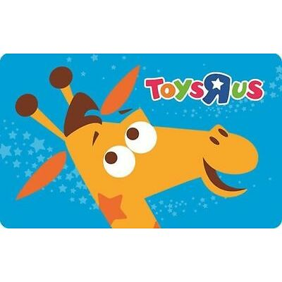 "Get a $100 Toys""R""Us Gift Card for only $85 - Email delivery"
