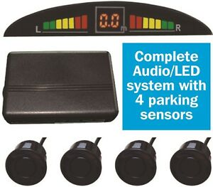 Car-Reversing-Reverse-Parking-System-Sensors-with-Audio-Warning-amp-LED-Display