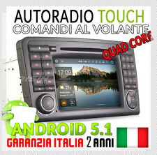 "AUTORADIO 7"" ANDROID 5.1 DAB+ WIFI Mercedes Classe ML GL W164 X164 300 320 350"