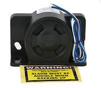 Universal Backup Warning Alarm 112db Beeper W Wires - Construction Heavy Truck