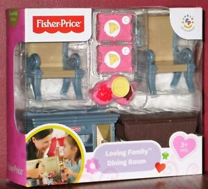 Fisher Price Loving Family Dining Room Kitchen Table
