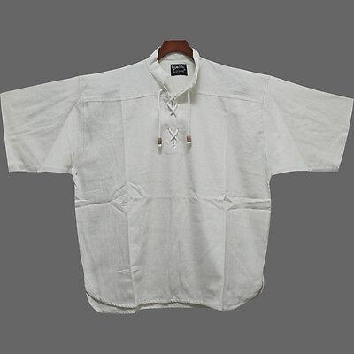 Sommerhemd Mittelalterhemd 6 Fb. 6 Gr. kurzärmeliges Mittelalter Hemd kurzarm