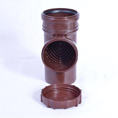 Rohre Farbe Braun Exzellente QualitäT Kg Diplomatisch Fallrohrfilter Regenrohrfilter M Laubfang Dn100 Ø110 Ht