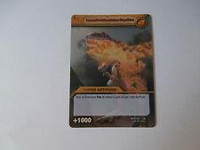Carte Dinosaur King Incendie Dévastateur Suprême Combat Titanesque !!!