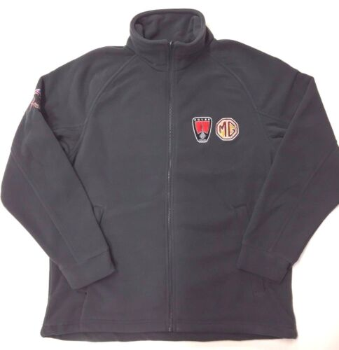 SIZE SMALL MG ROVER GREY ZIP UP FLEECE NEW