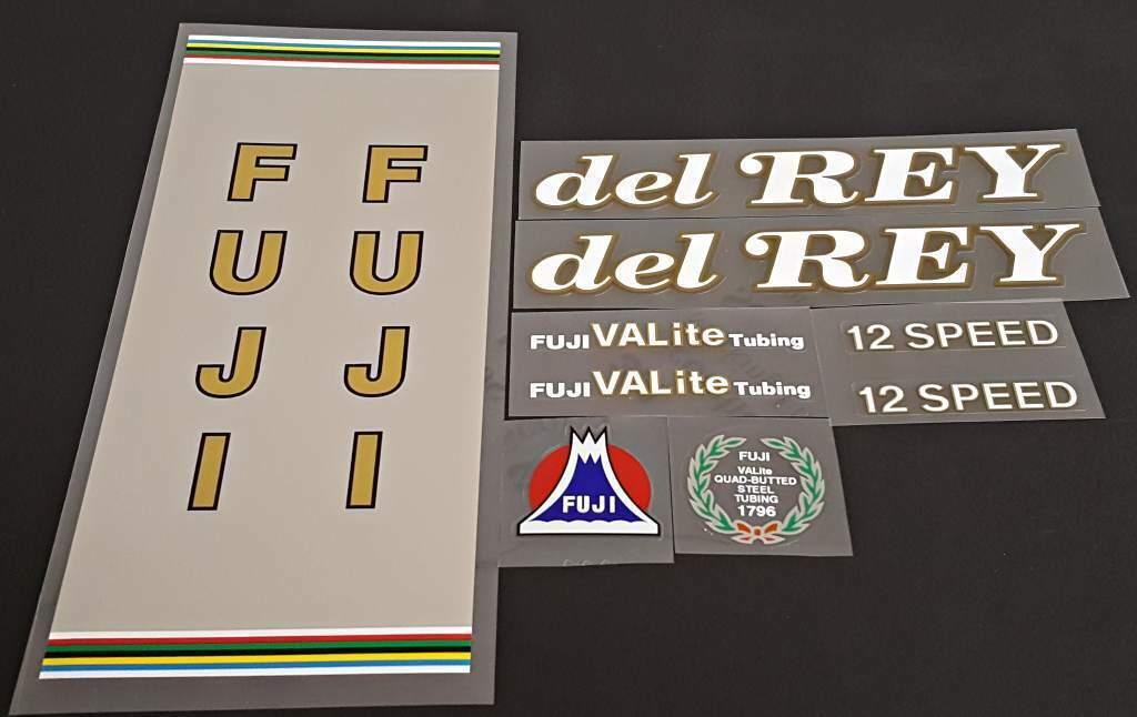 Fuji League Fuji 1984 Bicycle Decal Set sku Fuji-S102