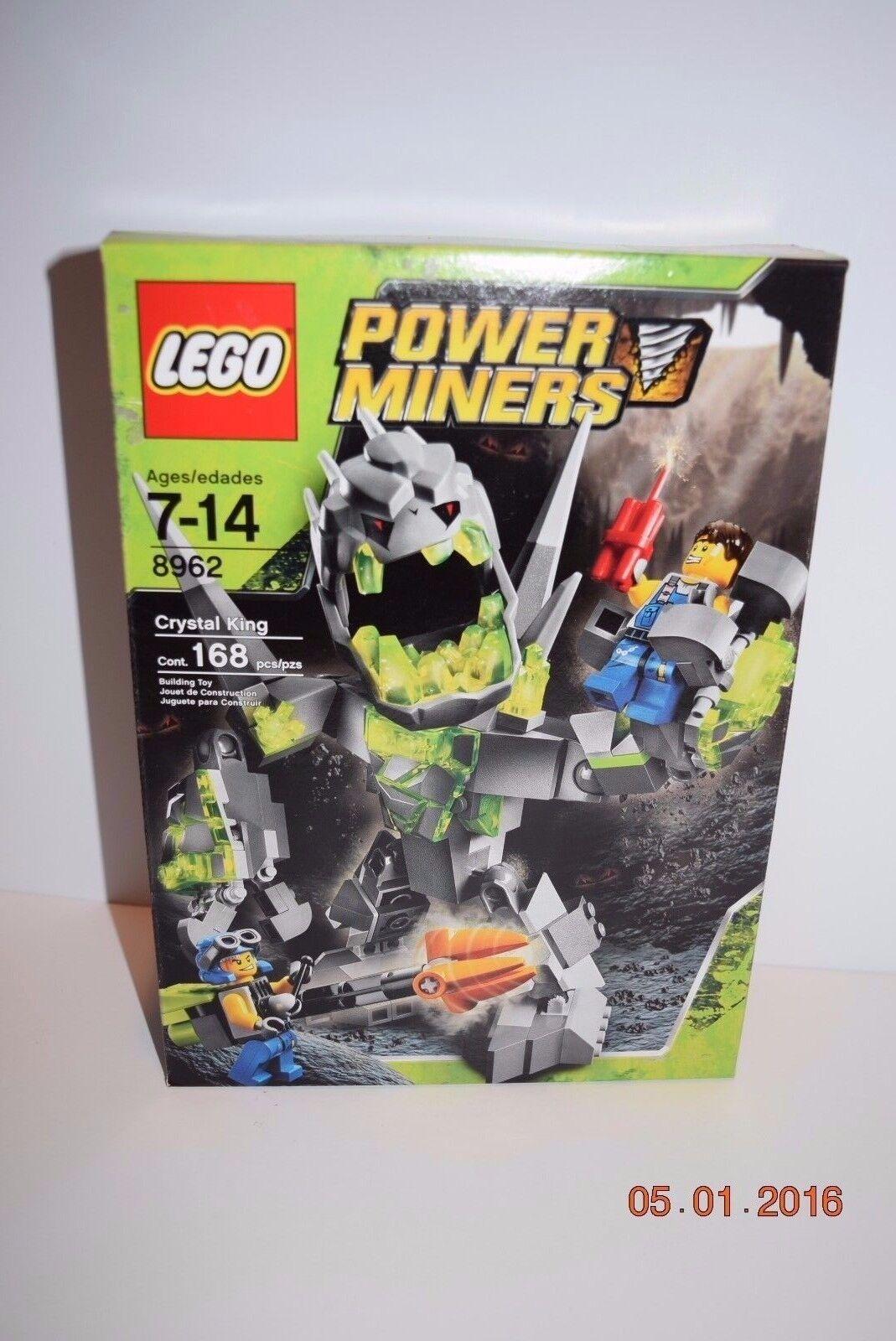 Lego Power Miners 8962 Crystal King7+, 8956,8959,8960,8961   RetiROT    NEW