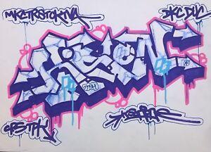 Kson Dessin Graffiti 2016 Streetart No Tkid Quik Seen Taki