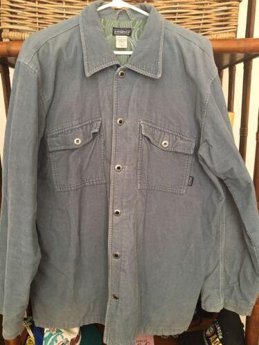 Men's Patagonia Corduroy Jacket Organic Cotton Lar