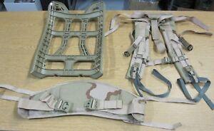 Used Usgi Molle Ii Frame Belt And Shoulder Straps Dcu
