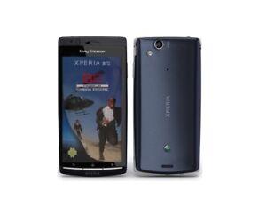 Sony-Ericsson-XPERIA-arc-in-Blue-Handy-Dummy-Attrappe-Requisit-Deko-Werbung