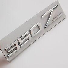 Chrome 350Z Car Auto Aluminum Emblem Badge Stickers for NISSAN 350Z Fairlady Z33