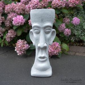Koh Samui Jardiniere Main Cast Stone Décoration De Jardin Fleur Moi Statue ⧫ Fois Plus-uk-afficher Le Titre D'origine Circulation Sanguine Tonifiante Et Douleurs D'ArrêT