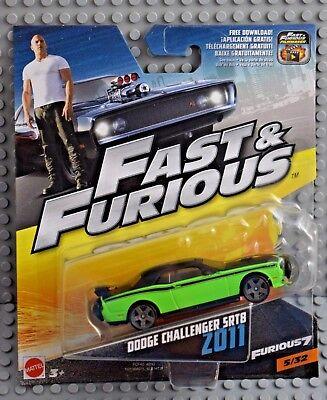 Aggressivo Mattel Quasi U. Furious 2011 Dodge Challenger Str8 1:55 Nuovo & Ovp-mostra Il Titolo Originale Luminoso E Traslucido Nell'Apparenza