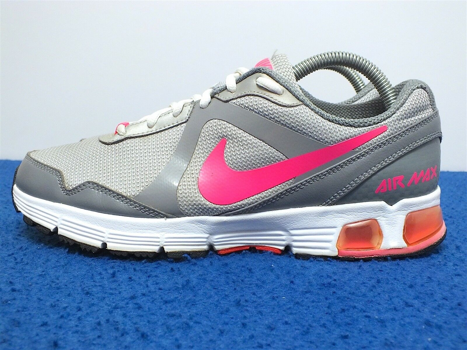 Nike Air Max Run Lite 2009 Women's Running shoes Silver White Pink Size 9(US)