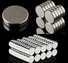 Various NEODYMIUM MAGNETS ~ 2mm Thick ~ ROUND SQUARE Rare Earth Discs Rings N35