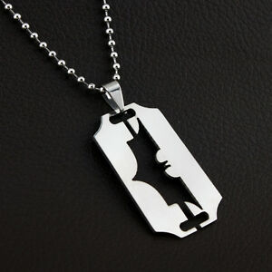 Batman-Dog-Tag-Stainless-Steel-Silver-Superhero-DC-Comics-Necklace-Chain-Pendent