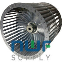 Universal Squirrel Cage Furnace Blower Wheel 10x10x.5 10x10x1/2 Cw Rotation