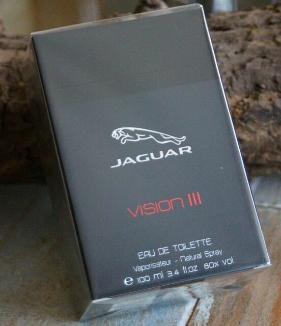 JAGUAR - VISION III 3 - 100ml Eau de Toilette for Men - Herren EdT - NEU & OVP