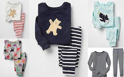 GAP Girl Pajamas Sleepwear Sleep Set Cotton Pink Blue Green Multi 2T 3T 4T 5T